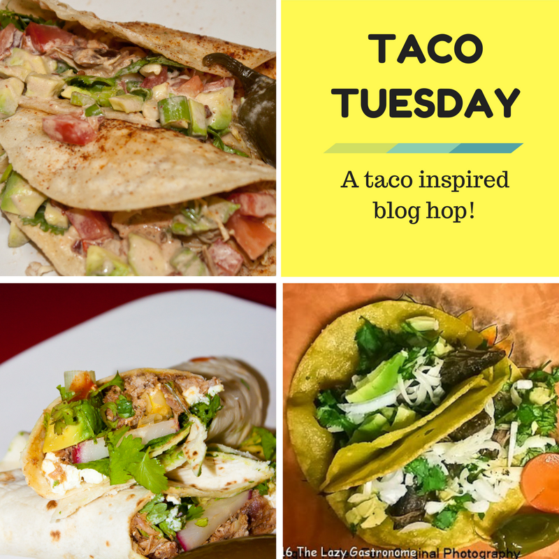 It's taco Tuesday!!  Come on over for some taco inspired recipes!