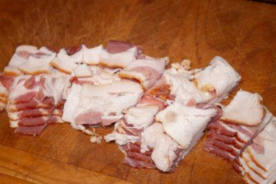 pot pie bacon